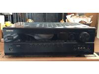 Onkyo Amplifier AV Receiver TX-SR508 With Remote Control