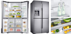STAINLESS STEEL/ WHITE FRIDGES with DELIVERY & WARRANTY
