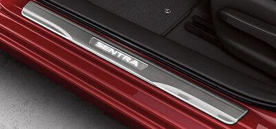 Genuine Nissan Sentra 2013-2016 Illuminated Kick Step Plates 4 Piece Set NEW OEM
