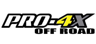 "PRO-4X Nissan frontier  1 14"" wide inch color decal sticker off road UNOFFICIAL"