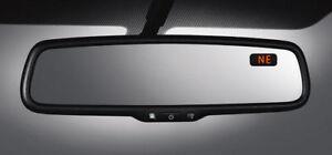 NEW 2005 - 2015 Toyota Tundra Tacoma Auto Dim Rear View Mirror Compass