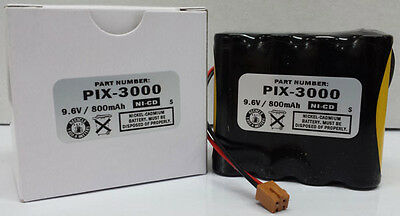 Amano Pix-3000x Operational Reserve Battery Amano Ajr-111000 Compatible