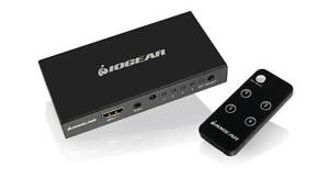IOGEAR 4K 4-Port HDMI Switch with Remote - GHDSW4K4