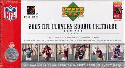 2005 Upper Deck Rookie Premiere NFL Players Box Set -