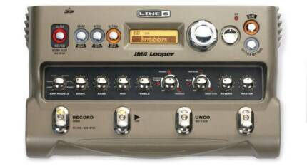 Line 6 JM-4 Looper Pedal - Perfect condition