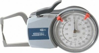 Spi 0.4 Inch Max Measurement 0.0002 Inch Graduation Outside Dial Caliper Ga...