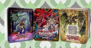 YUGIOH TINS WANT TO BUY EMPTY
