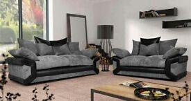 Scs Sheldon sofas with FREE FOOTSTOOL