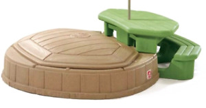 Table pique nique et bac à sable ou piscine step 2
