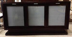 Cabinet Credenza with frosted glass doors