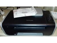 LEXMARK X2670 Printer, in good working order, needs ink, doesn't work with latest Windows