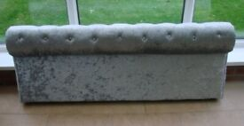 brand new foot board off double bed could be made into headboard