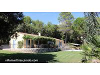 Charming Provencal villa in Montauroux, Cote d'Azur