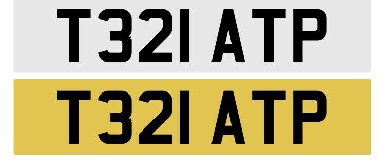Private+Number+Plate.+Tennis+-+Tesla.+FREE+Special+Delivery.+T321+ATP