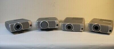 Lot of 4- InFocus LP240 Digital LCD Projector Home Movie Theater Office