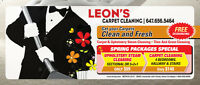 COMMERCIAL / RESIDENTIAL STEAM CARPET & UPHOLSTERY CLEANING...