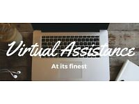 Virtual assistant, admin & data entry