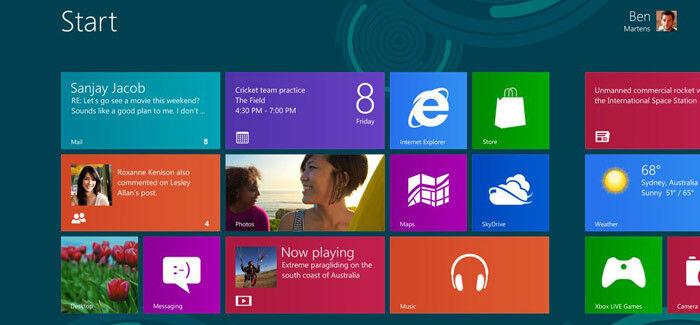 Windows 8: Willkommen in der Welt der Kacheln
