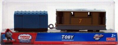 Fisher Price Thomas & Friends TrackMaster TOBY motorized engine 2Pack Cargo Car
