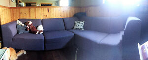 EQ3 sectional couch / Sectional sofa for sale North Shore Greater Vancouver Area image 3