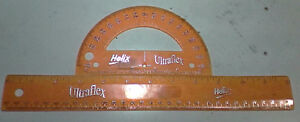 Helix Flexible Ruler and Protractor