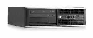 Liquidation PC HP i5 3.3GHz/4GB-8GB/250GB-500GB/DVDRW/Win10