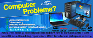 Computer repair, in most cases same day service
