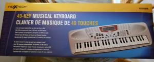 49 Key Musical Keyboard **NEW**