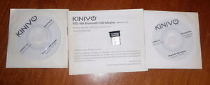 Kinivo Bluetooth 3.0 Adapter add Bluetooth to any computer