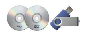 Service to transfering DVD moviefiles to MPEG4/USB video file