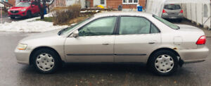 Honda Accord 1999 Low Milage 160K