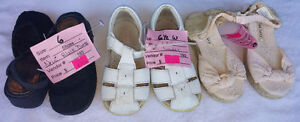 Girls Size Baby/ Infantst 5 - 12 Shoes, Sandal, Boots, Sneakers. London Ontario image 2