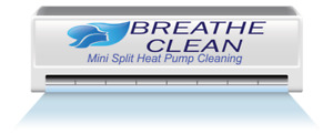 Heat Pump Cleaning by Breathe Clean.
