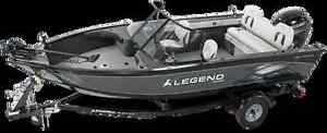 New 2015 Legend 18 Extreme with trolling motor