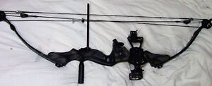 COMPOUND BOW cougar speed flite XRG,50-60 ish lbs