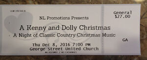 2 Tickets To A Kenny & Dolly Christmas
