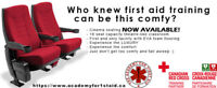 Canadian Red Cross first aid CPR training in Toronto: Promo!