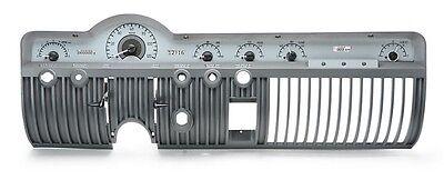 Dakota Digital 50 51 Mercury Car Analog Dash Gauges Kit Silver White VHX-50M-S-W