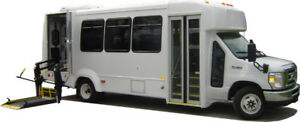 16 Passenger Wheelchair Accessible Handi Bus with 6 Wheelchairs