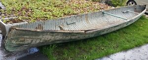 Antique Courting Canoe