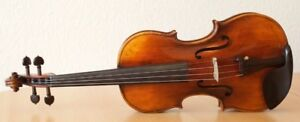 Beautiful old violin for sale!One piece back tiger flame!