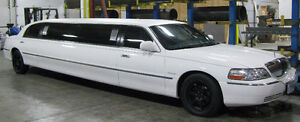 2004 LINCOLN TOWN CAR STRETCH LIMO