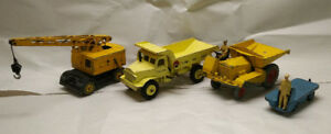 Dinky SuperToys/ Meccano Construction diecast set
