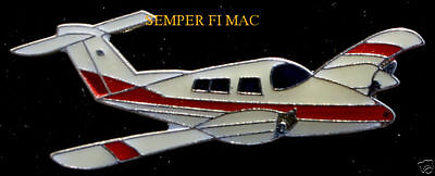 PIPER SEMINOLE TWIN PA-44 LAPEL HAT VEST PIN AIRPLANE PILOT CREW SOLO GIFT WING for sale  Lake Forest