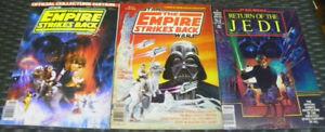 16 Vintage Star Wars Books & Magazines lot Han Solo