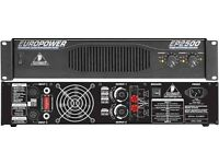 Behringer EP1500 EP 1500 PA Power Amplifier Amp