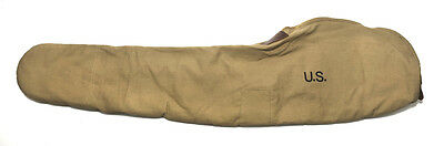 World War 2 M1 Garand Fleece Lined Canvas Case Khaki Color Marked Jt L 1942