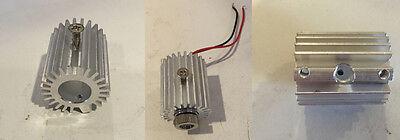 Round Aluminum Laser Heatsink Mount Fixture Holder 445nm Burning Diode Module