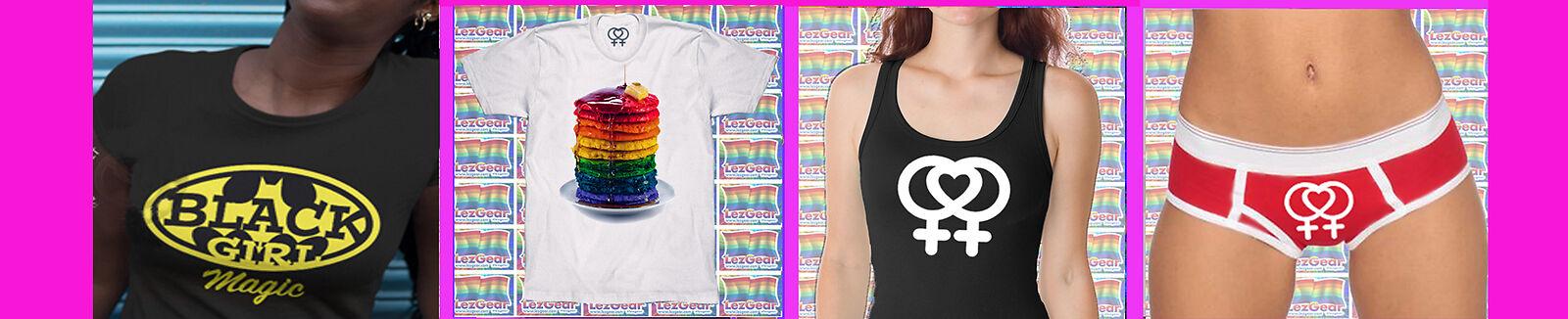 GIRLPRIDESTORE Lesbian Parody Gear