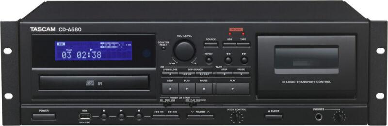 Tascam CD/Cassette Recorder w/USB
